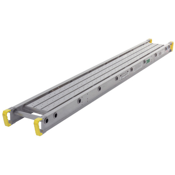 "Werner 2020 Aluminum Stages - 20 Ft Long | 12"" Wide 1-Person 250 lb Capacity"