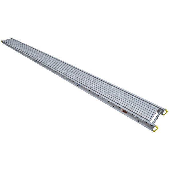 "Werner 3124 Aluminum Stages - 24 Ft Long | 24"" Wide 3-Person 750 lb Capacity"