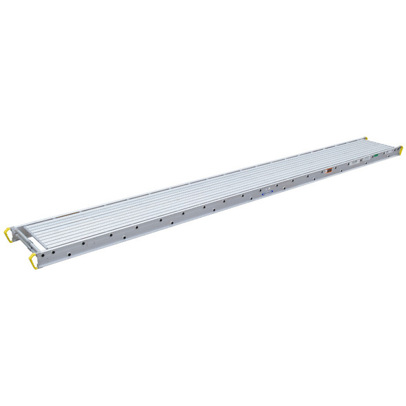 "Werner 3224 Aluminum Stages - 24 Ft Long | 28"" Wide 3-Person 750 lb Capacity"