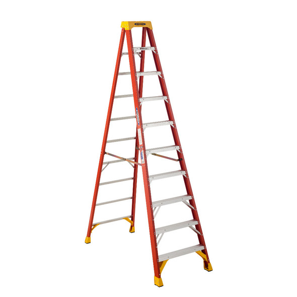 Werner 6210 10 Foot Fiberglass Stepladder