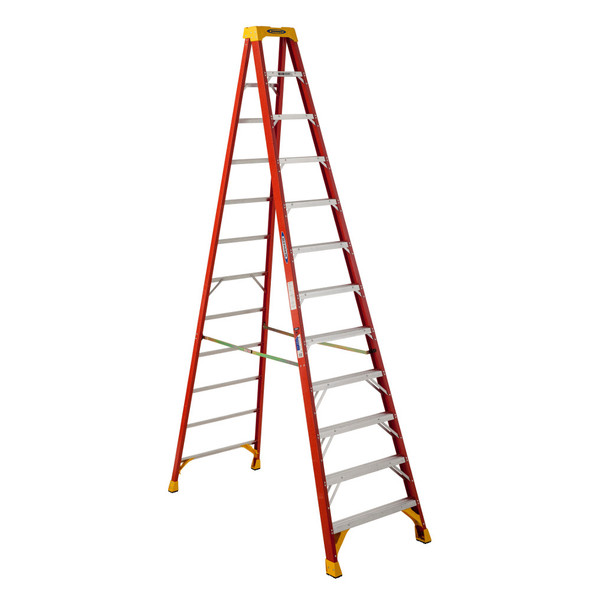 Werner 6212 12 Foot Fiberglass Stepladder