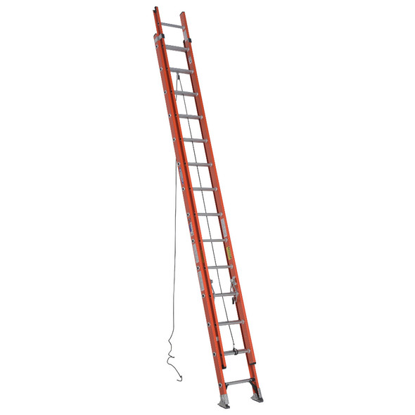 Werner D6228-2 Fiberglass Extension Ladder