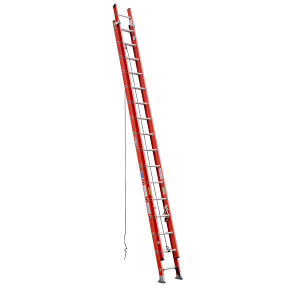 Werner D6232-2 Fiberglass Extension Ladder