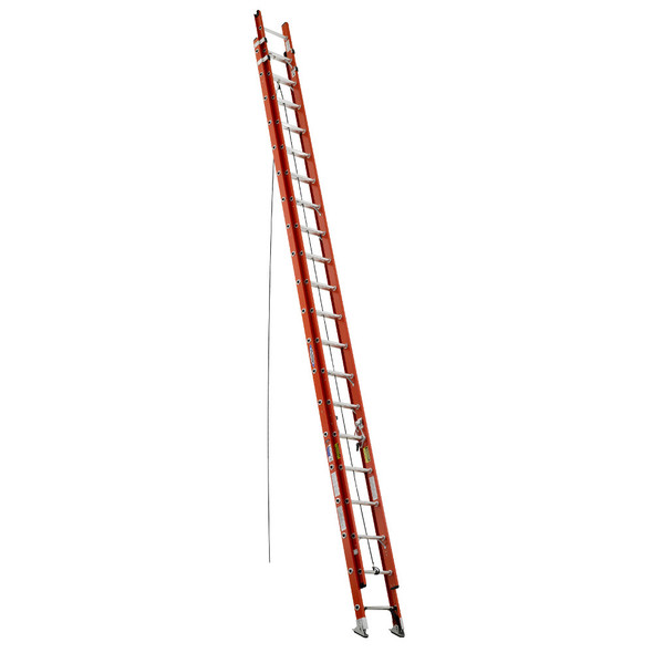 Werner D6240-2 Fiberglass Extension Ladder
