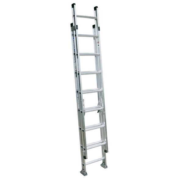 Werner D1516-2 | 16 Ft Aluminum Extension Ladder / Type IA 300 lb Rating
