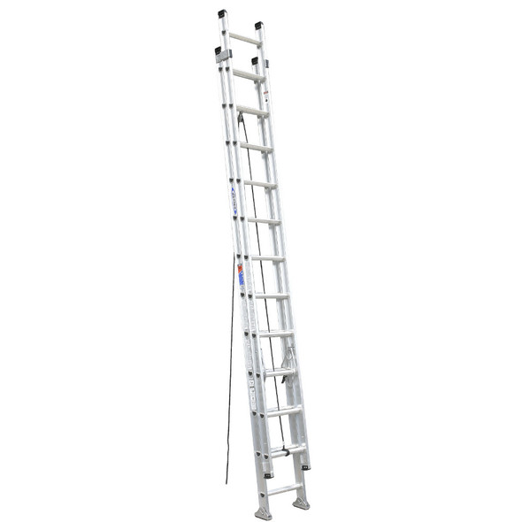 Werner D1524-2 | 24 Ft Aluminum Extension Ladder / Type IA 300 lb Rating