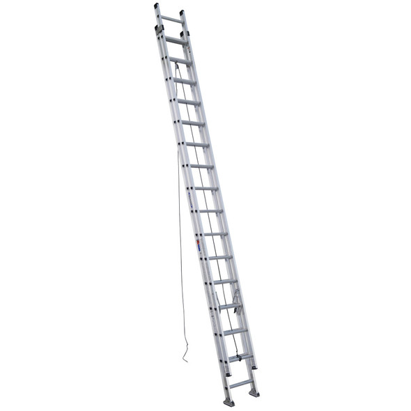 Werner D1532-2 | 32 Ft Aluminum Extension Ladder / Type IA 300 lb Rating