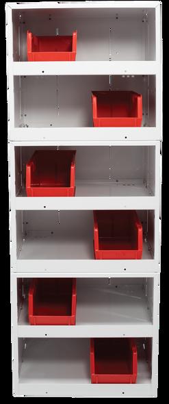 WeatherGuard Model 9962-3-01 Two-Shelf, Stackable Cabinet