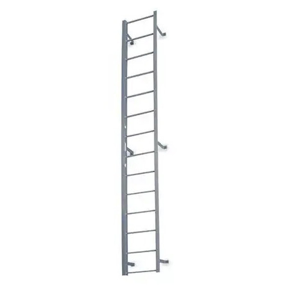 Cotterman - F4S Fixed Steel Ladder | 1 Section / Overall Length 3 Ft 3 In / No Handrail