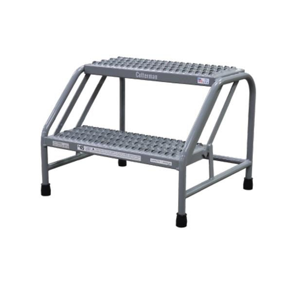 Cotterman 1302N2223A3E10B1C1P6 | Steel Step Stand / 2 - Step