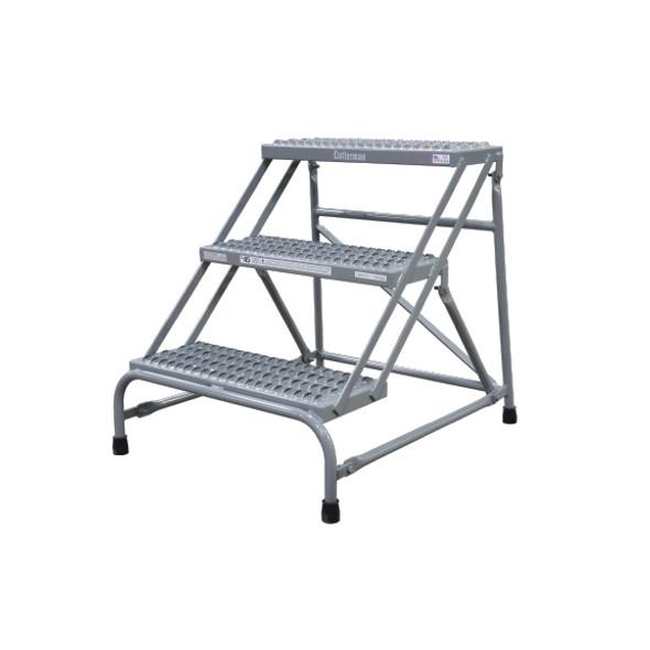 Cotterman 1403N2526A3E10B1C1P1 | Steel Step Stand / 3 - Step