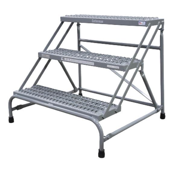 Cotterman 1403N3032A3E10B1C1P1 | Steel Step Stand / 3 - Step