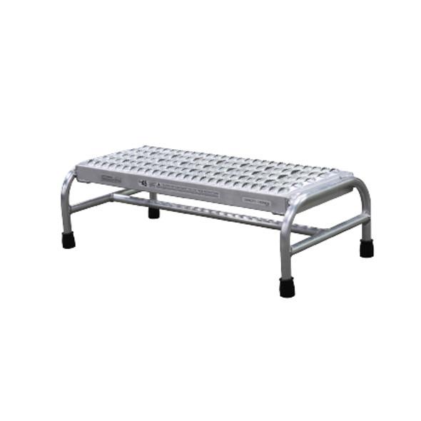 Cotterman 1801N3031A3E12B1C50P6 | Aluminum Step Stand / 1 - Step
