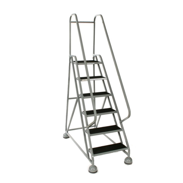 Cotterman ST-521 A2 XX P5 | MasterStep Office Ladder / 5 - Step / 45 In Platform Height / 75 In Overall Height / Double Top Step / Double Handrail
