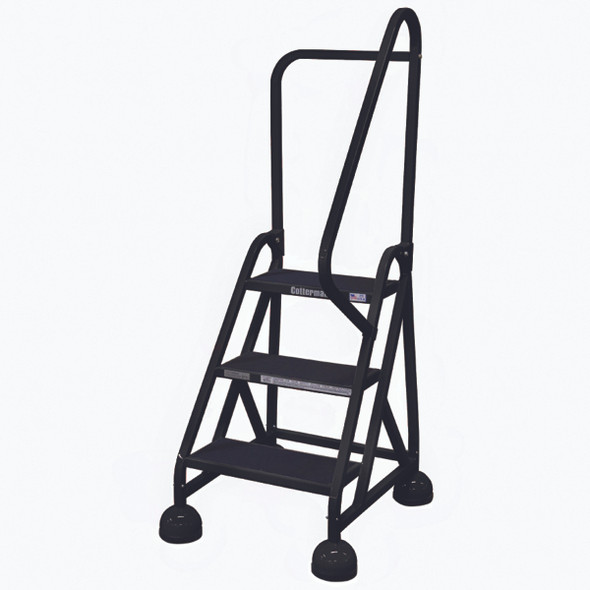 Cotterman ST-303 A2 XX P5 | MasterStep Office Ladder / 3 - Step / 27 In Platform Height / 57 In Overall Height / Right Handrail