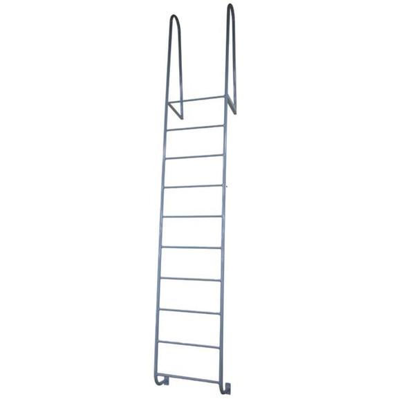 Cotterman - D9WT | Walk-thru Dock Ladder / 9-rung / 300 lb. Rating