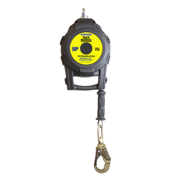 Werner R410050 | 50 FT Max Patrol Self-Retracting Lifeline (SRL) with Galvanized Cable