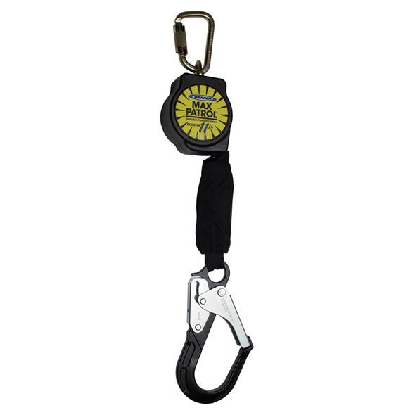 Werner R430011-R | 11 FT Max Patrol Self-Retracting Lifeline (SRL) with Aluminum Rebar Hook