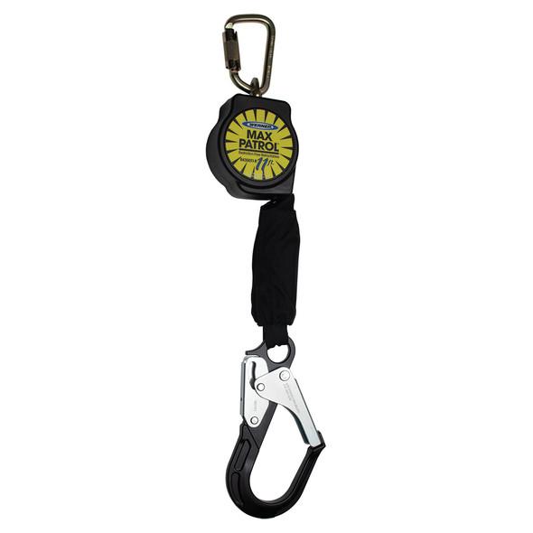Werner R430011-R | 11 FT Max Patrol Self-Retracting Lifeline (SRL) with Aluminum Rebar Hook