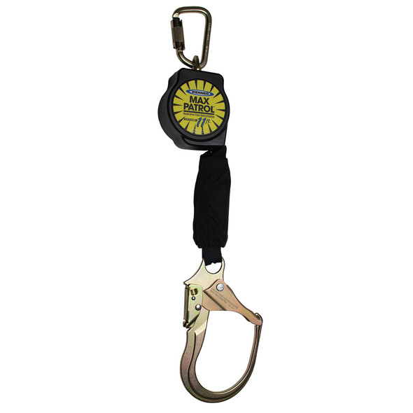 Werner R430011-SR | 11 FT Max Patrol Self-Retracting Lifeline (SRL) with Steel Form Hook