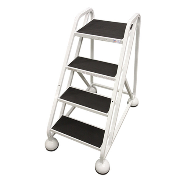 Cotterman AM-420 A2 XX P5 | MasterStep Office Ladder / 4 - Step / 36 In Platform Height / 36 In Overall Height / Double Top Step / No Handrail