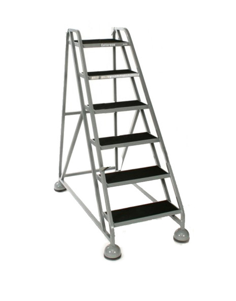 Cotterman AM-520 A2 XX P5 | MasterStep Office Ladder / 5 - Step / 45 In Platform Height / 45 In Overall Height / Double Top Step / No Handrail