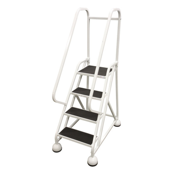 Cotterman AM-421 A2 XX P5 | MasterStep Office Ladder / 4 - Step / 36 In Platform Height / 66 In Overall Height / Double Top Step / Double Handrail