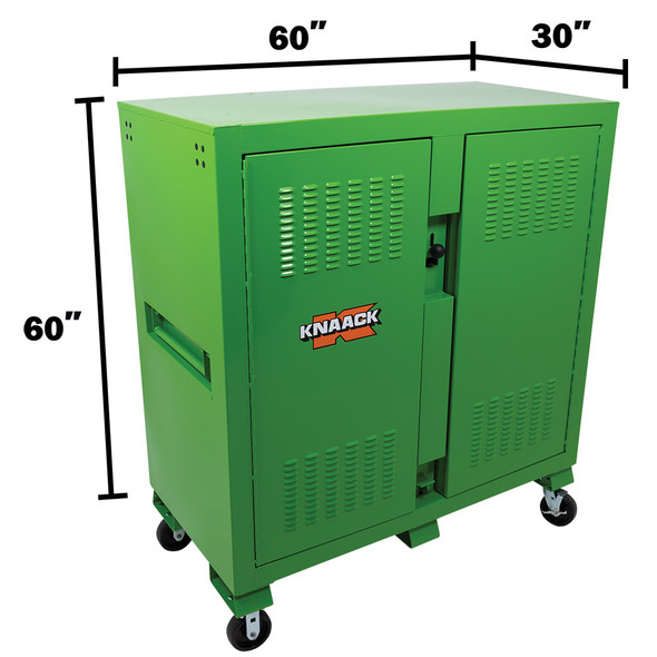 Knaack Model 139-SK-02 Safety Kage Cabinet, 59.4 Cubic Ft