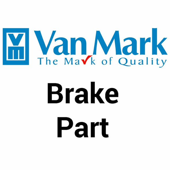 VanMark Brake Part 5117 Perf. Die Male ring w/bore