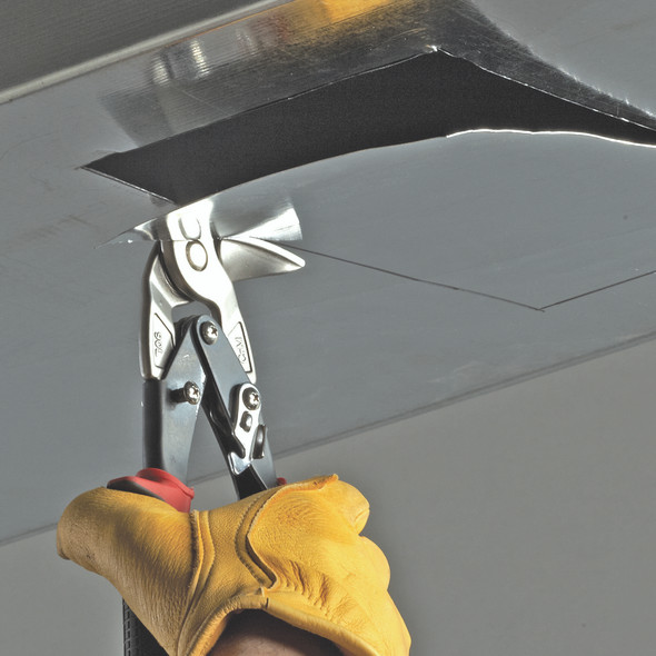 Malco Tool #AV8 Aviation Snips, Left, Vertical