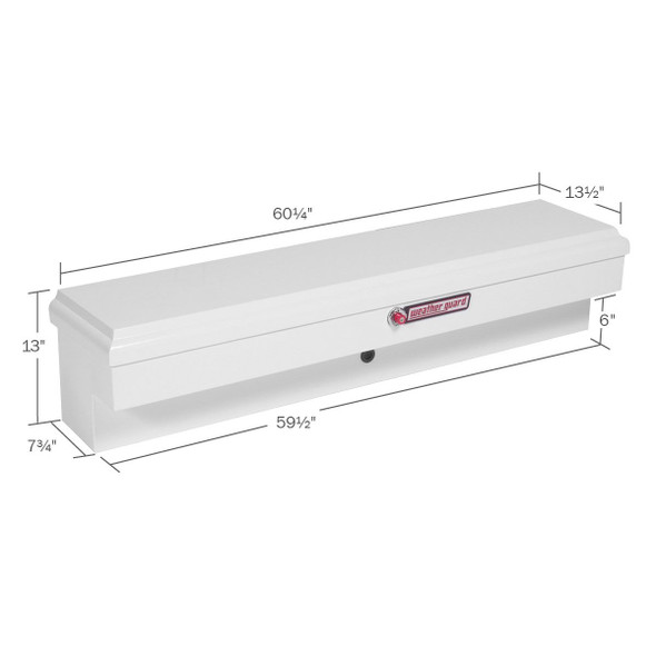 WeatherGuard Model 175-3-01 Lo-Side Box, Steel, Standard, 4.5 cu ft
