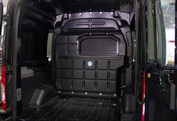 Adrian Steel #PARFTMC-NW Crew Van Composite Partition, Black, Transit Mid Roof