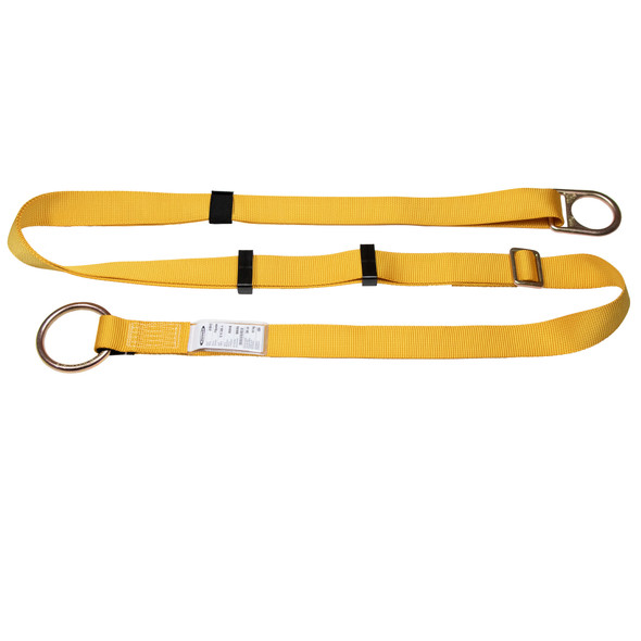 Werner A110112 Cross Arm Strap, Adjustable (O-Ring, D-Ring) - 12'