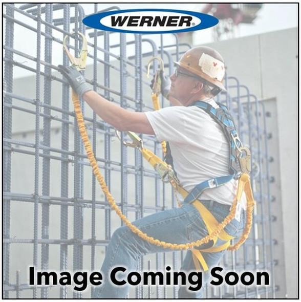 "Werner A320011 Steel Bolt 1/2""-13x4"" G8 Hex Head bolt w Nylon Insert Locknut and Lock Washer Steel Yellow Zinc"