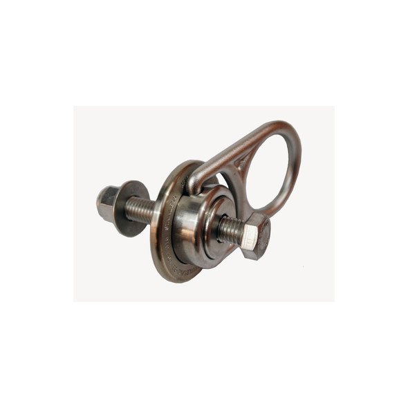 "Werner A570001 Anchor Swivel 5K 316SS Steel Kit (Includes: Swivel, 5/8"" X 4 316SS Bolt, Flat Washer, Nylon Lock Nut)"