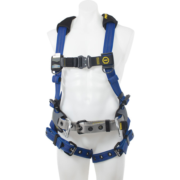 Werner H03210XXS PROFORM Construction Harness - Tongue Buckle Legs - Steel Hardware