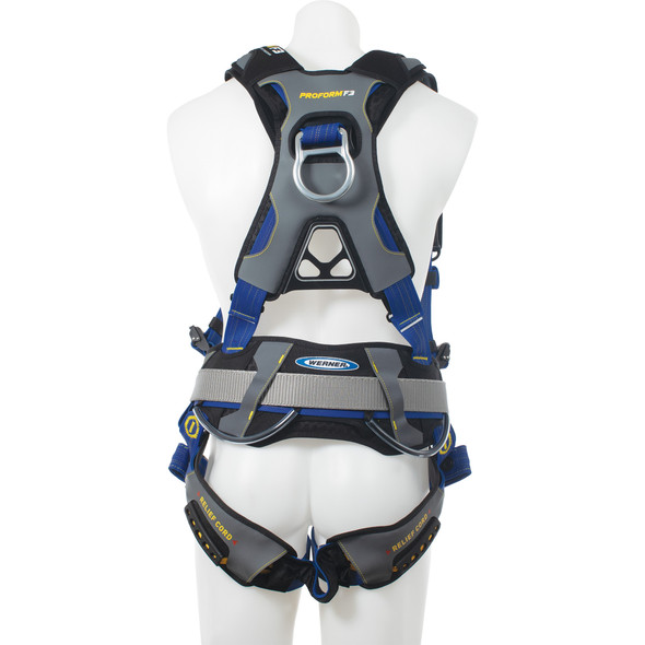 Werner H03210X PROFORM Construction Harness - Tongue Buckle Legs