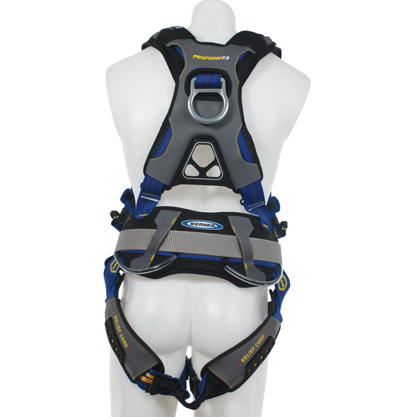 Werner H03310X PROFORM Construction Harness, Quick Connect Legs
