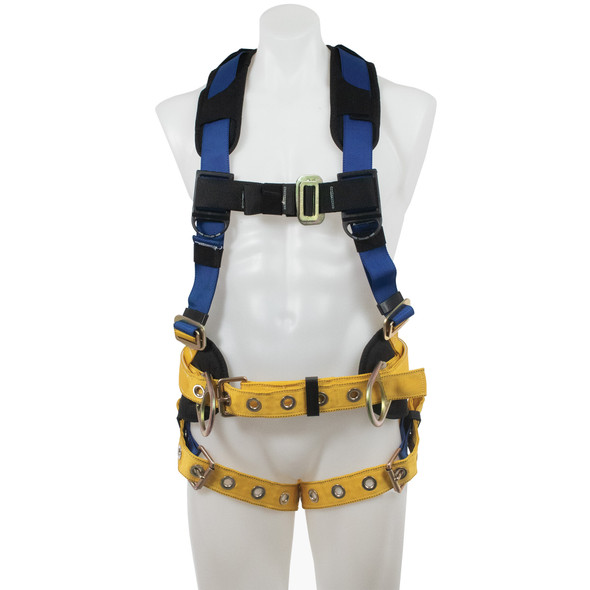 Werner H43210X BaseWear Construction Harness, Tongue Buckle Legs