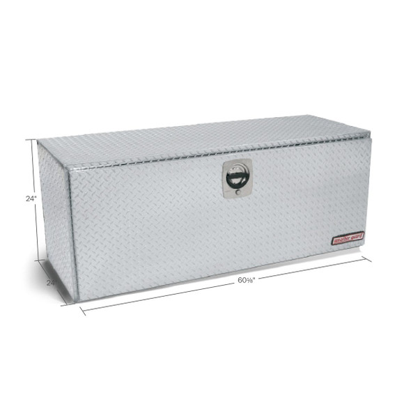 Weather Guard Model 662-0-02 Underbed Box, Aluminum, Jumbo, 20.0 cu ft