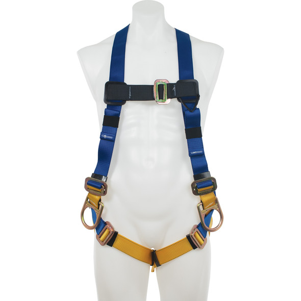 Werner H431002 Basewear Positioning (Back And Hip D-Rings) Harness, Universa