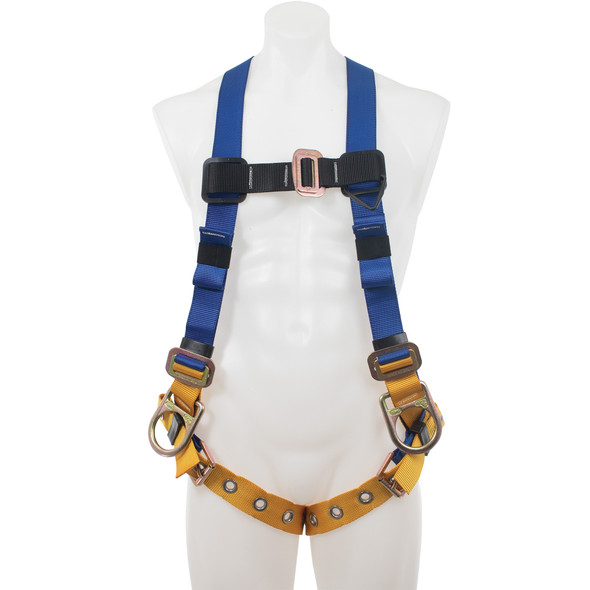 Werner H432002 Basewear Positioning (Back And Hip D-Rings) Harness, Tongue Buckle Legs, Universal