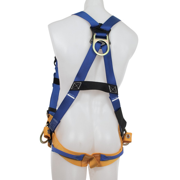 Werner H36200X Litefit Climbing/Positioning (Back, Hip And Front D-Rings) Harness, Tongue Buckle Legs
