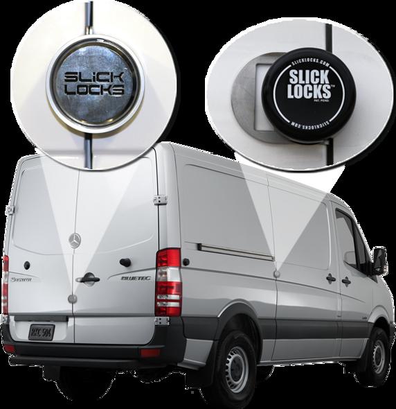 Slick Lock Model No. SP-19-FVK-DBL-SLIDE-TK | Mercedes Sprinter Complete Turn Key Kit (Double Slide) - 2019