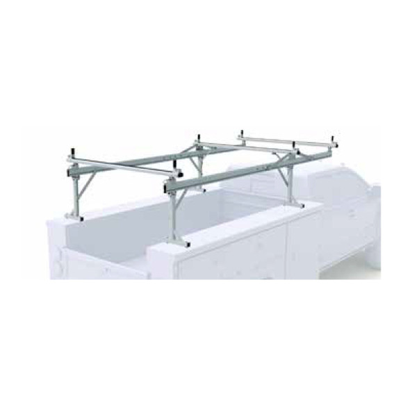 Prime Design OTC-8001 Over the Cab Material Rack [Top Mount] for 8 & 9 FT Service Body - Standard Cab