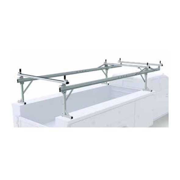 Prime Design OTC-8003 Over the Cab Material Rack  [Top Mount] 11 FT Service Body - Standard, Extended, & Crew Cab