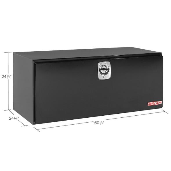 Weather Guard Model 562-5-02 Underbed Box, Steel, Jumbo, 20.0 cu ft