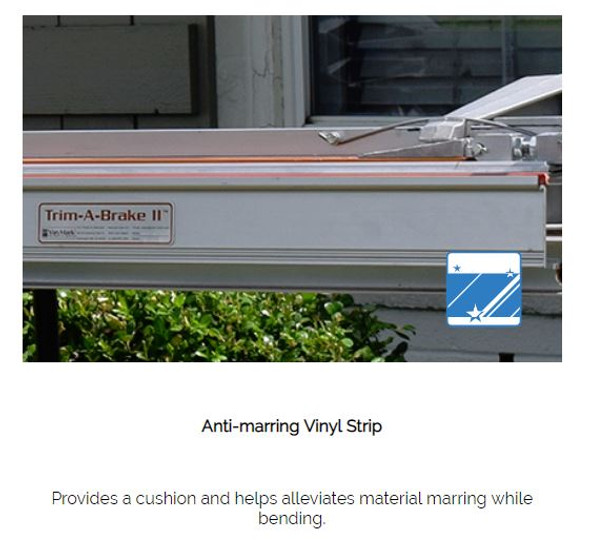 "Van Mark / T850 - Siding Tools Trim-A-Brake II - 8' 6"""