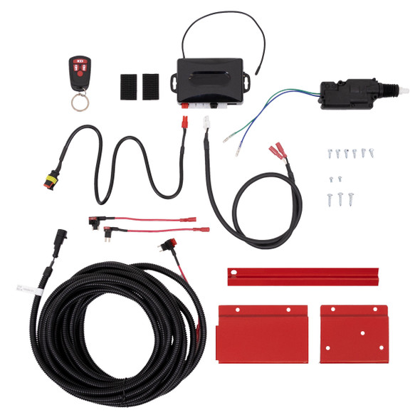 Weather Guard PS8004 Remote Keyless Entry Kit with Fuse Wire Harness Saddle Box
