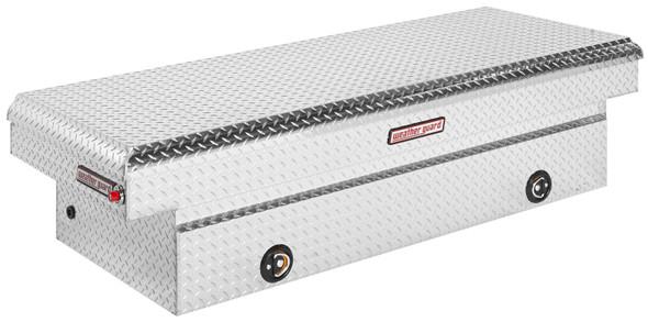 Weather Guard Model 117-X-03 Saddle Box, Aluminum, Full Extra Wide, 14.4 cu ft